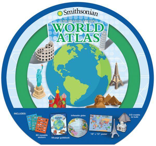 Silver Dolphin Books Smithsonian Exploration Station: World Atlas