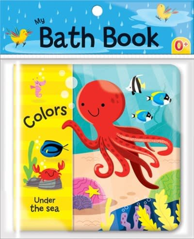 CrackBoom! Books Colors: Under the Sea (My Bath Book)
