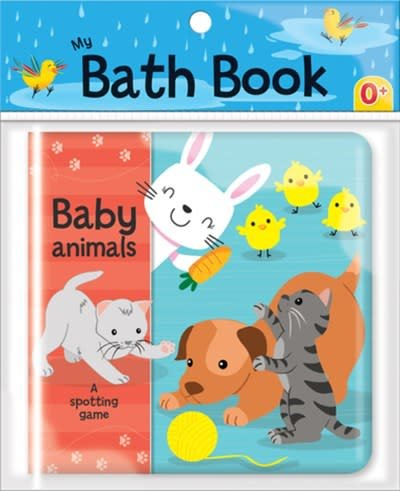 CrackBoom! Books Baby Animals: A Spotting Game (My Bath Book)