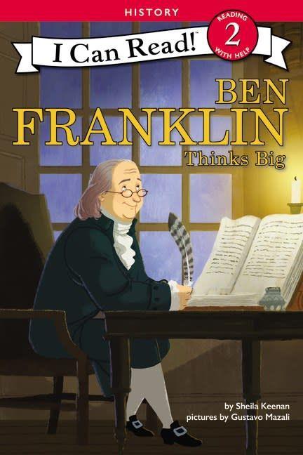 HarperCollins Ben Franklin Thinks Big