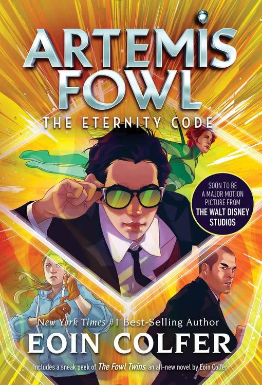 Disney-Hyperion Artemis Fowl 03 The Eternity Code (New Cover)
