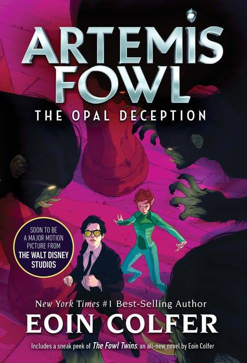 Disney-Hyperion Artemis Fowl The Opal Deception (new cover)