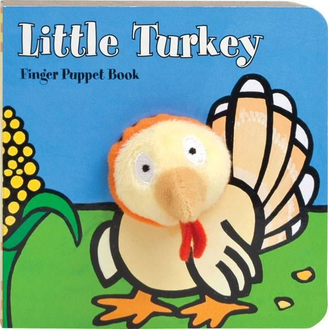 Chronicle Books Little Turkey (Finger Puppet Board Book)