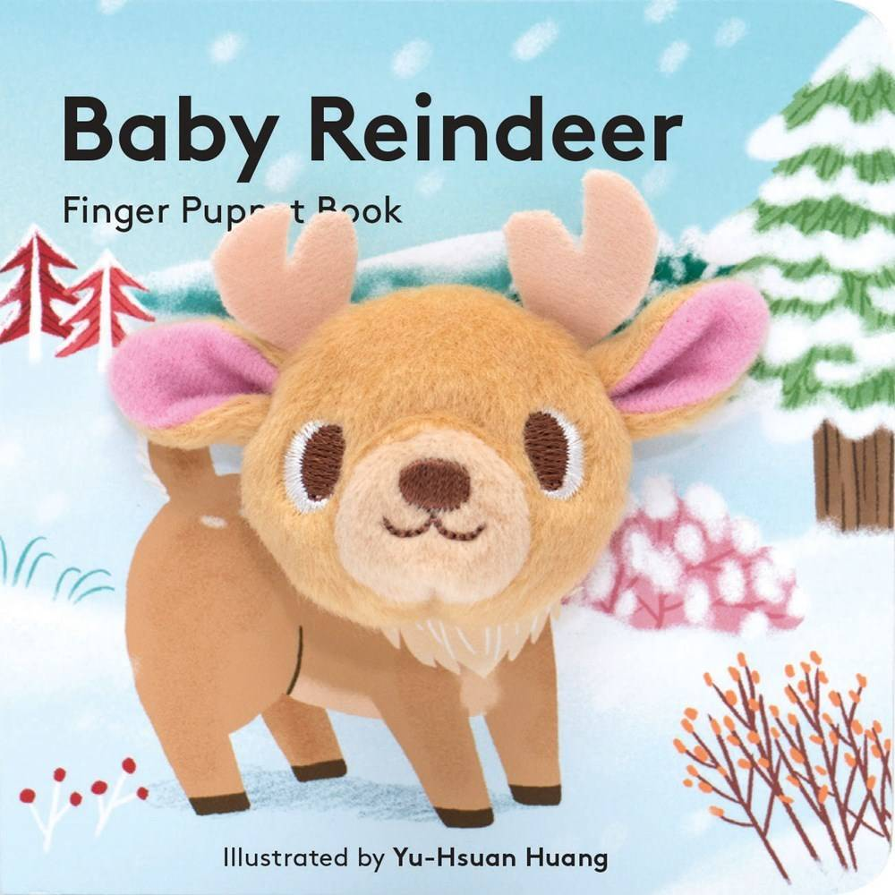 Chronicle Books Baby Reindeer (Finger Puppet Board Book)