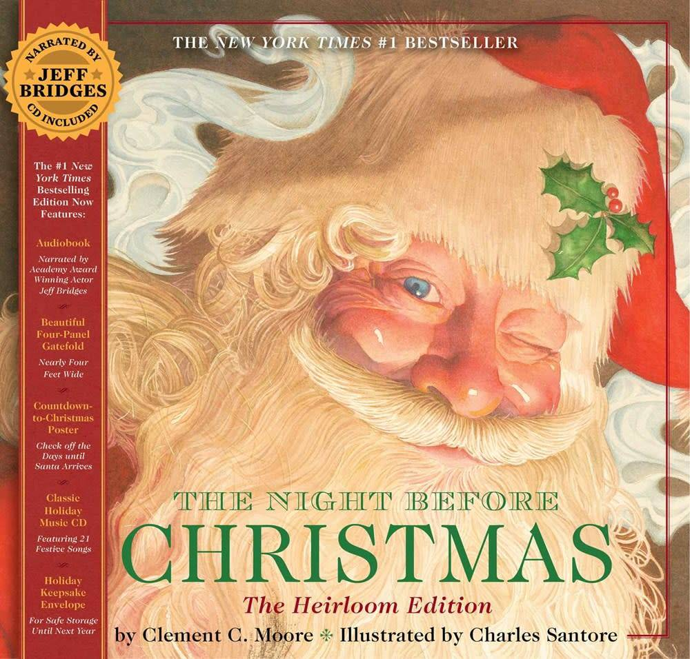 The Night Before Christmas (Heirloom Ed. with Story CD)