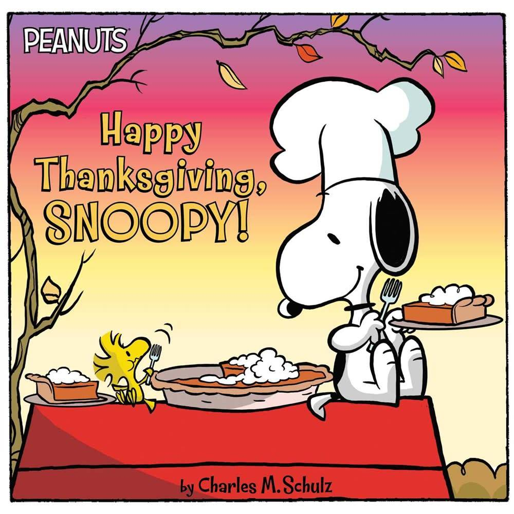 Simon Spotlight Happy Thanksgiving, Snoopy!