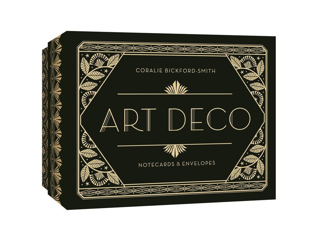 Princeton Architectural Press Art Deco Notecards & Envelopes