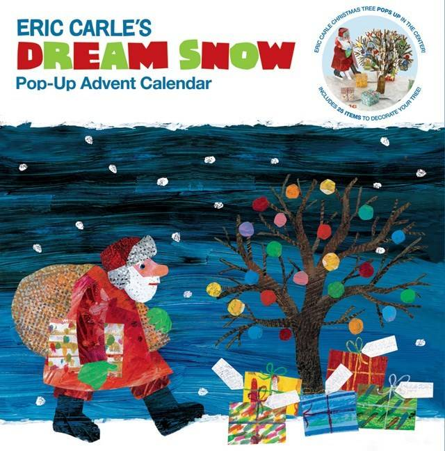 Chronicle Books Eric Carle: Dream Snow (Pop-Up Advent Calendar)