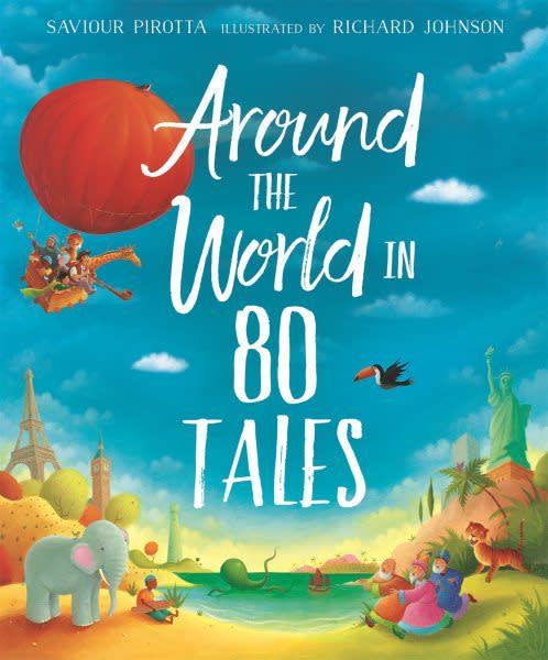 Kingfisher Around the World in 80 Tales