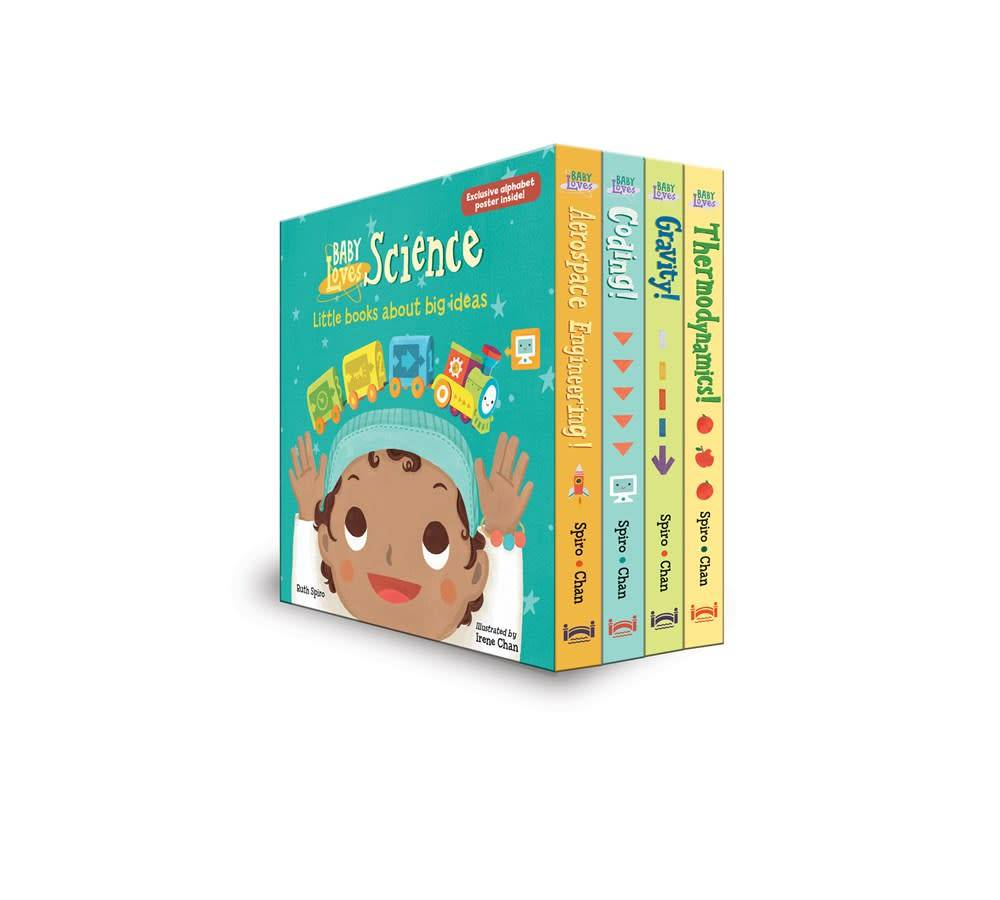 Charlesbridge Baby Loves Science Board Boxed Set