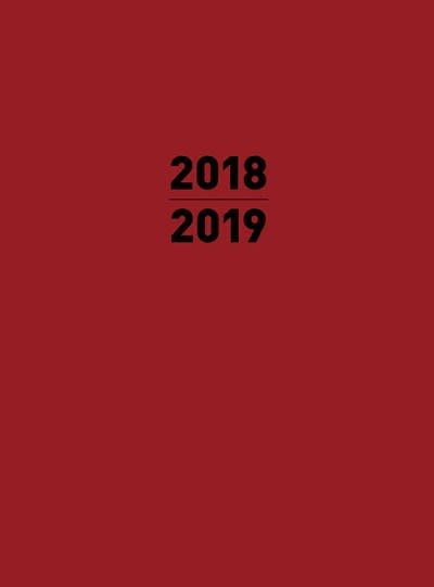 Thunder Bay Press Small 2019 Planner Red
