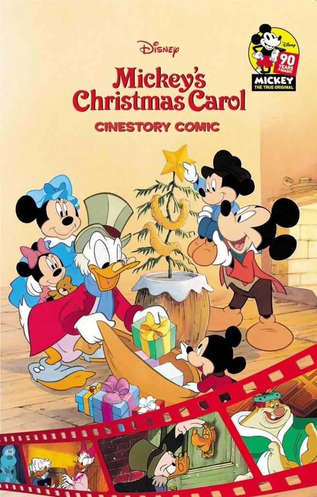 Joe Books LTD Disney Mickey's Christmas Carol Cinestory Comic