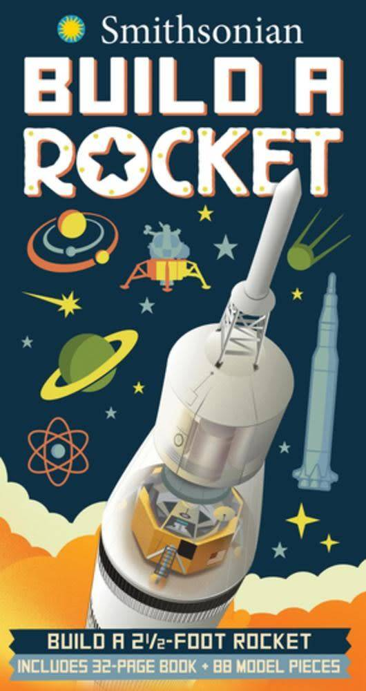 Silver Dolphin Books Smithsonian: Build a Rocket