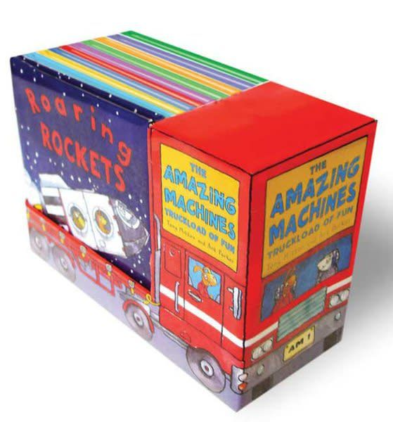 Kingfisher Amazing Machines: Truckload of Fun Boxed Set (10 Books)