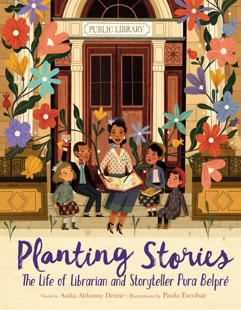 HarperCollins Planting Stories: The Life of Librarian and Storyteller Pura Belpré