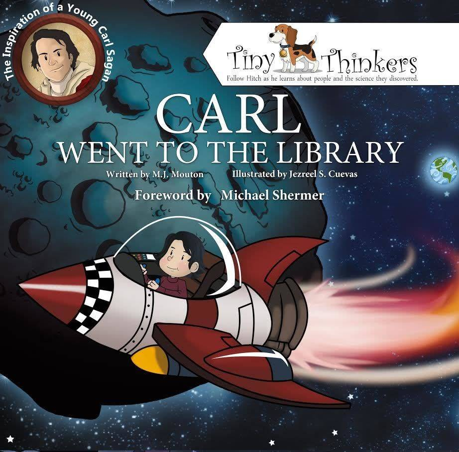 Rare Bird Books Carl Went To The Library: Inspiration of a Young Carl Sagan