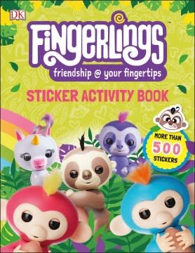 DK Children Fingerlings Sticker Activity Book