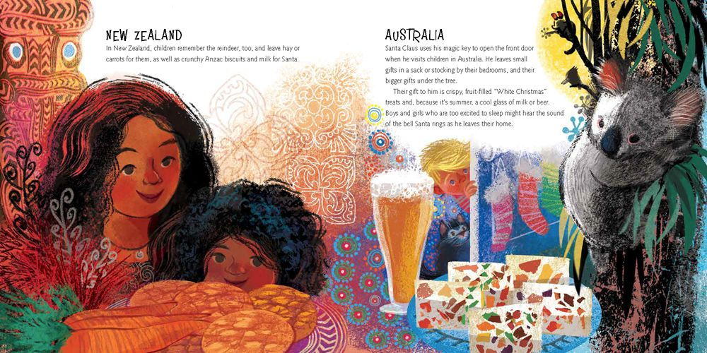HMH Books for Young Readers A World of Cookies for Santa: ...Tasty Trip Around the World