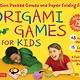 Tuttle Publishing Origami Games for Kids Kit