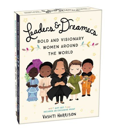 Little, Brown Books for Young Readers Leaders & Dreamers (Bold and Visionary Women Around the World Gift Set)