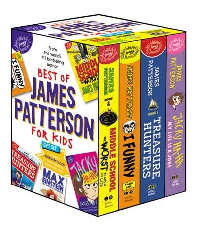 jimmy patterson Best of James Patterson for Kids Boxed Set (with Bonus Max Einstein Sampler)