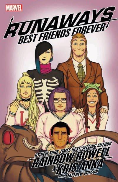 Marvel Runaways by Rainbow Rowell & Kris Anka Vol. 2: Best Friends Forever