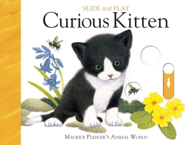 Silver Dolphin Books Slide and Play: Curious Kitten