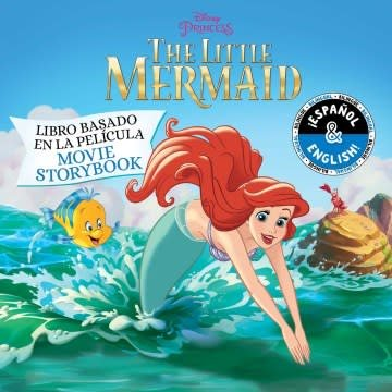 little bee books The Little Mermaid: Movie Storybook / Libro basado en la película (English-Spanish) (Disney Princess)