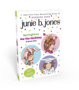 Random House Books for Young Readers Junie B. Jones Springtime Ha-Ha-Holiday Set
