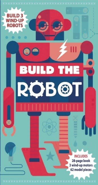 Build the Robot (Fact Book, Wind-up Motors, Slotted Models)