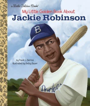 Golden Books My Little Golden Book About Jackie Robinson
