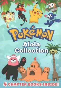 Scholastic Inc. Pokémon: Alola Chapter Book Collection