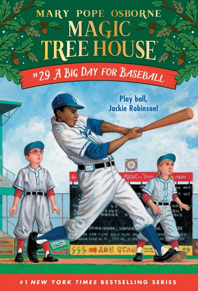 Random House Books for Young Readers Magic Tree House 29 A Big Day for Baseball