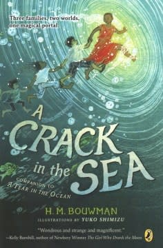 Puffin Books A Crack in the Sea