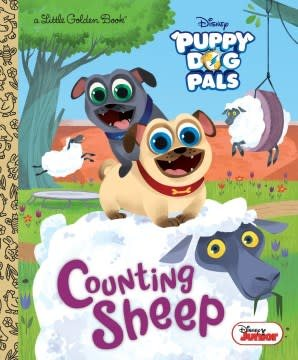 Golden/Disney Counting Sheep (Disney Junior Puppy Dog Pals)