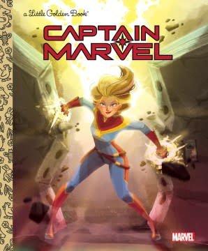 Golden Books Captain Marvel Little Golden Book (Marvel)