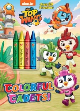 Golden Books Colorful Cadets! (Top Wing)