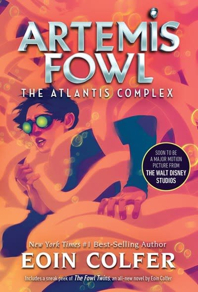 Disney-Hyperion Artemis Fowl 07 The Atlantis Complex (New Cover)