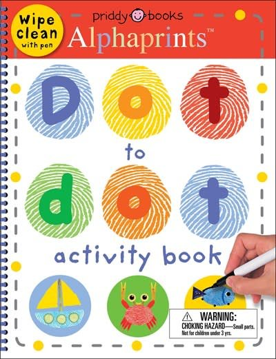 Priddy Books Alphaprints Dot to Dot Activity Book