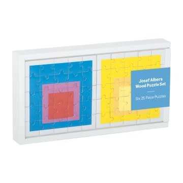Galison MoMA Josef Albers Wood Puzzle Set