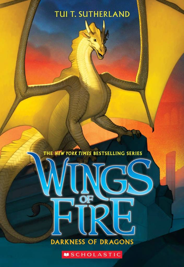 Scholastic Press Wings of Fire 10 Darkness of Dragons