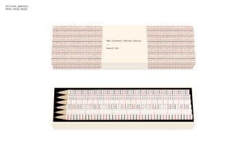 Princeton Architectural Press The Olivetti Pattern Series Pencil Set