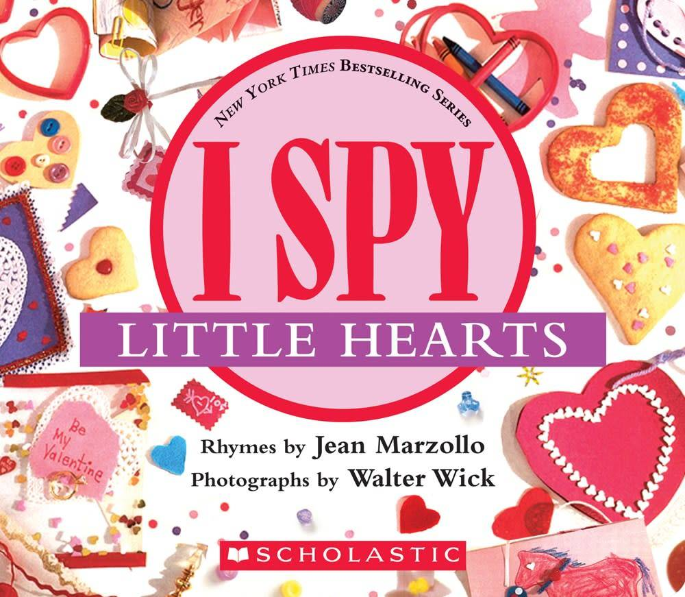 Cartwheel Books I Spy Little Hearts (with foil)