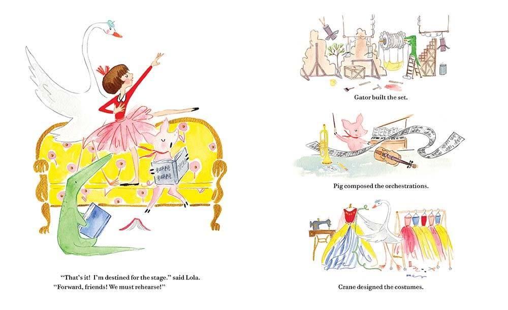 Bloomsbury Children's Books Lola Dutch When I Grow Up