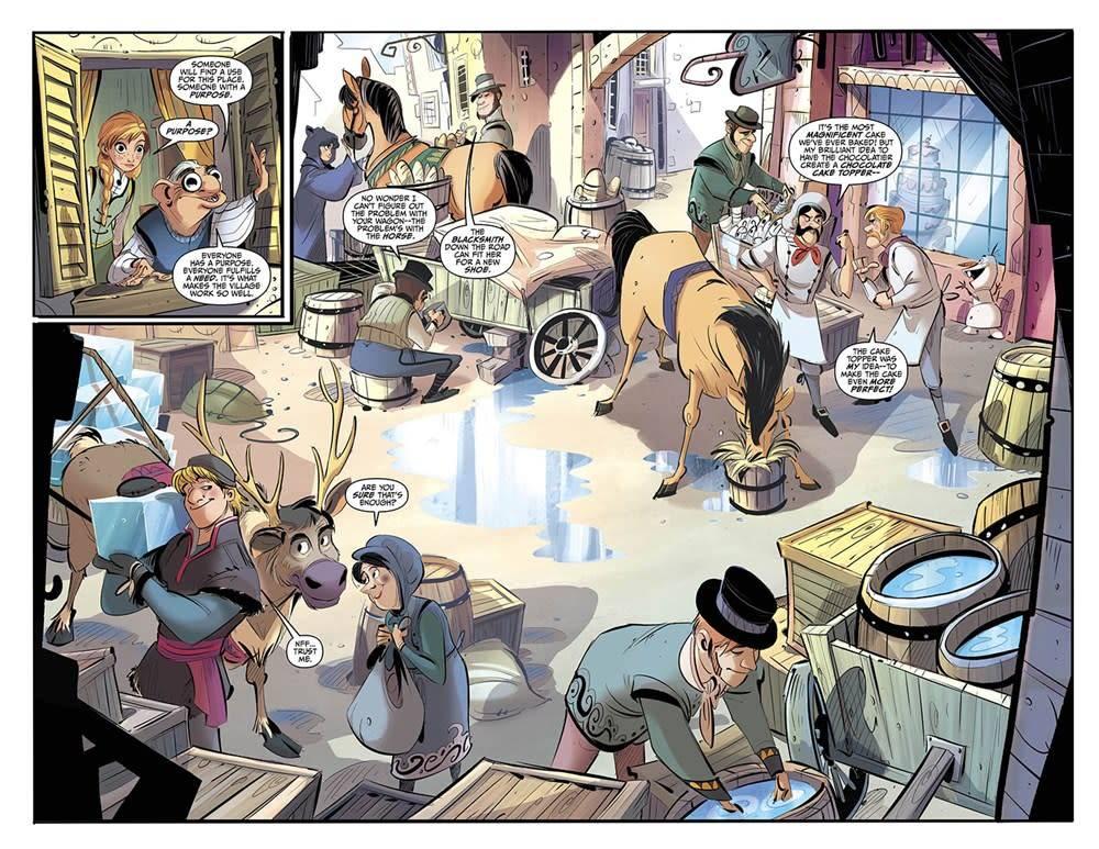 Dark Horse Books Disney Frozen: Breaking Boundaries (Graphic Novel)