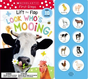 Cartwheel Books Lift the Flap: Look Who's Mooing! (Scholastic Early Learners)