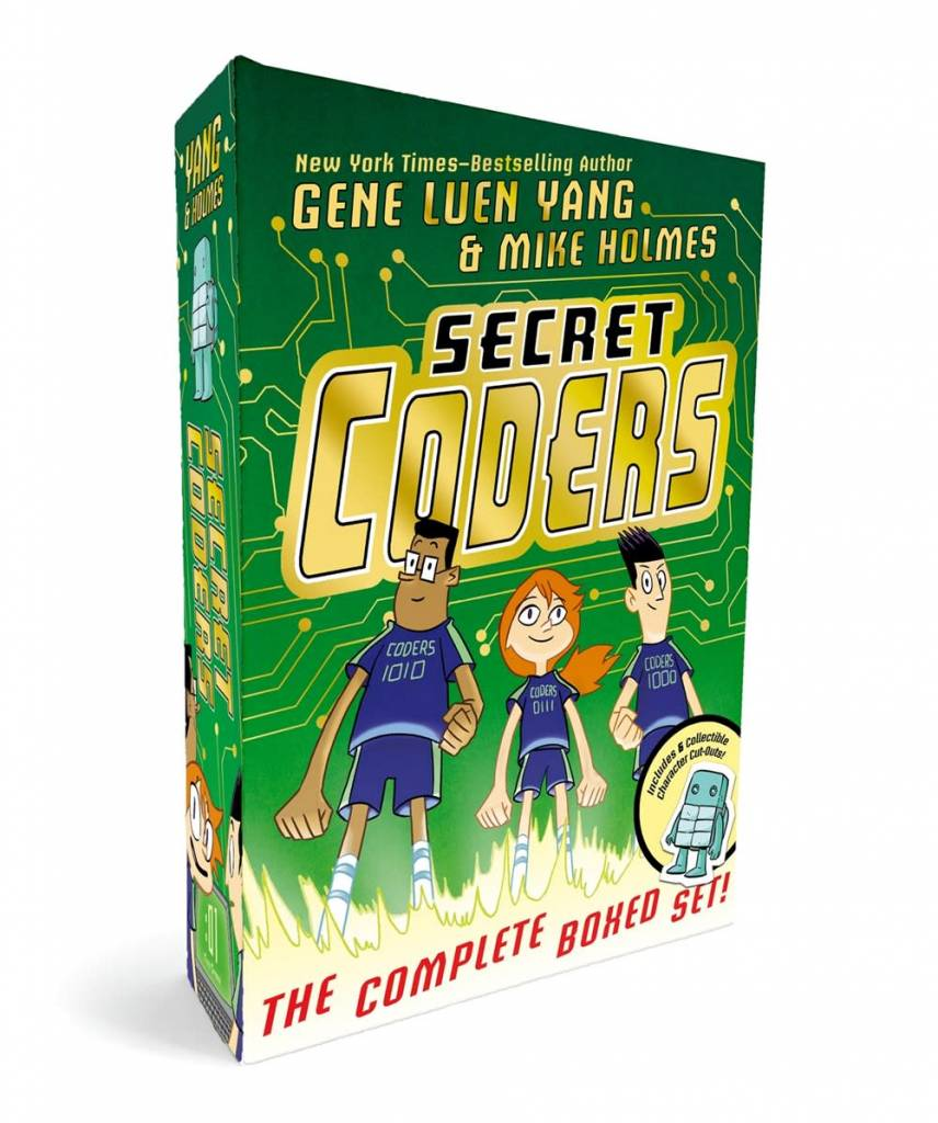 First Second Secret Coders: The Complete Boxed Set