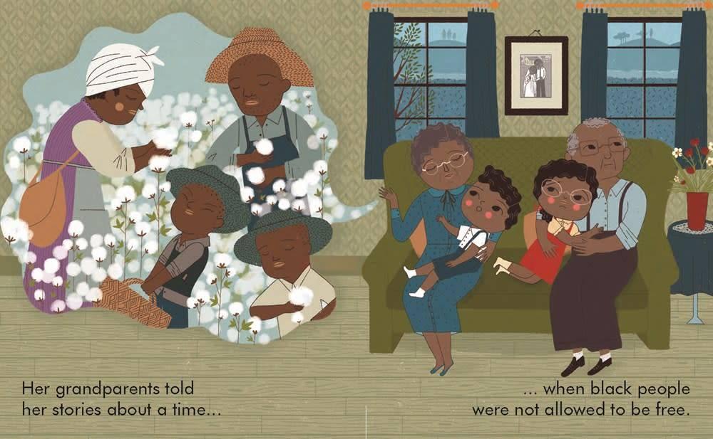 Lincoln Children's Books Little People, Big Dreams: Rosa Parks