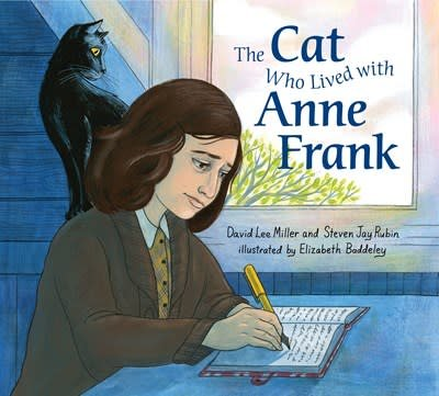 Philomel Books The Cat Who Lived With Anne Frank