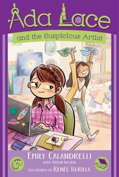 Simon & Schuster Books for Young Readers Ada Lace and the Suspicious Artist